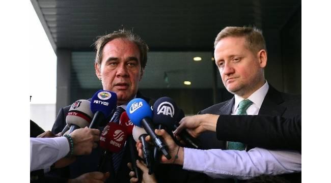 """Yıldırım Demirören: """"Yayın ihalesiyle 5 Türk, 1 yurt dışı firması ilgileniyor"""""""