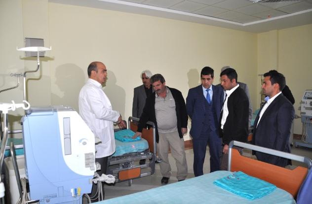 100 Yataklı hastane ile 200 bin kişiye hizmet
