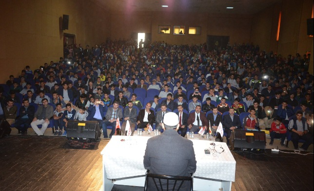 15 Temmuz Dirilişi konferansı düzenlendi