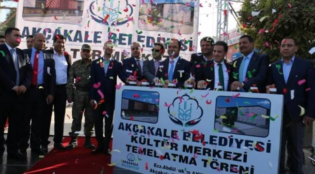 "Akçakale'ye ""engelsiz"" kültür merkezi"