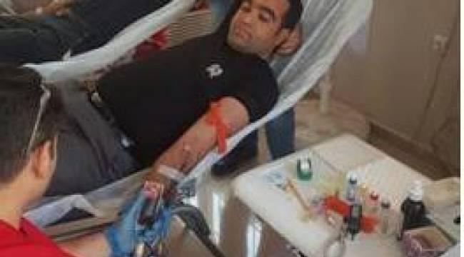Akil Gençlerden kan bağışı