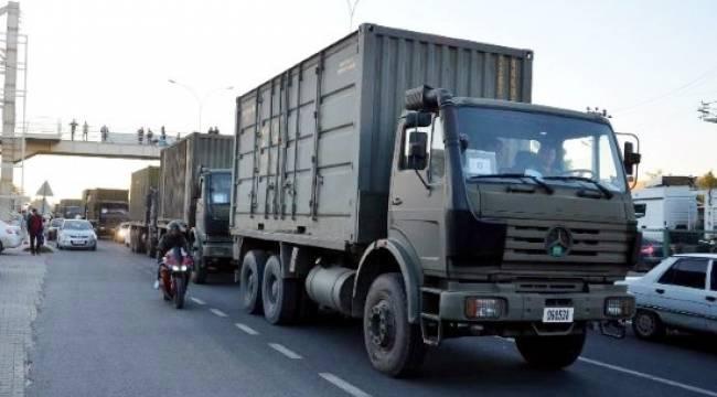 Askeri konvoy, Şanlıurfa'dan yola çıktı