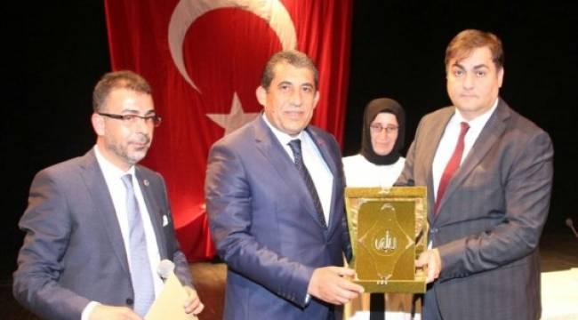 Atilla'ya Ömer Halisdemir Şeref Ödülü verildi