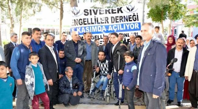 Belediye desteğiyle engeliler derneği açıldı