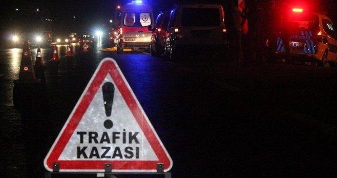 Birecik Urfa yolunda zincirleme kaza,14 Yaralı