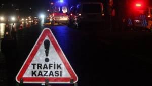 Halfeti'de Kaza 10 Yaralı