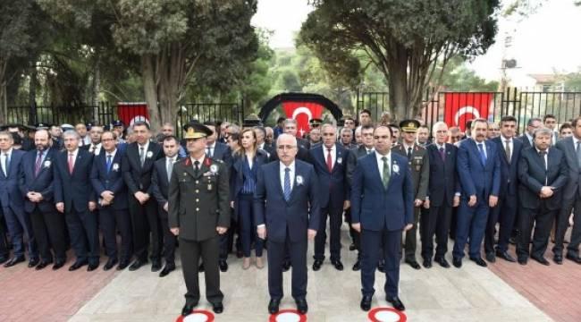 Büyük Önder Atatürk törenlerle anıldı