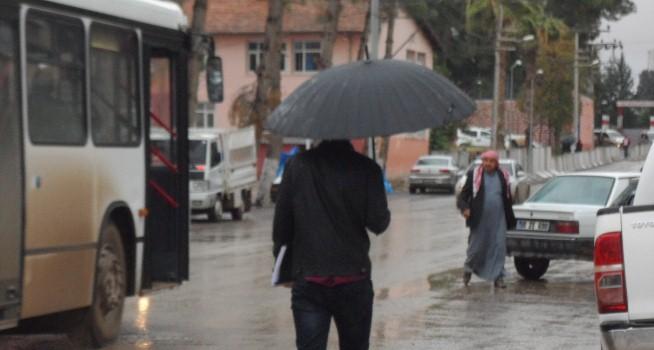 Ceylanpınar'da yağış etkili oldu