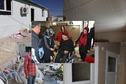 Elverişsiz evler tek tek onarılıyor