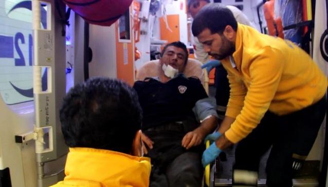Emniyet Müdürü Tipioğlu yaralı polisleri ziyaret etti
