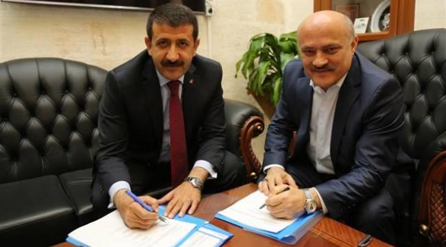 Eyübiye'de toplu iş sözleşmesi imzalandı