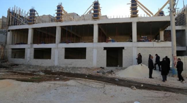 Eyyübiye'de yapılar hızla yükseliyor