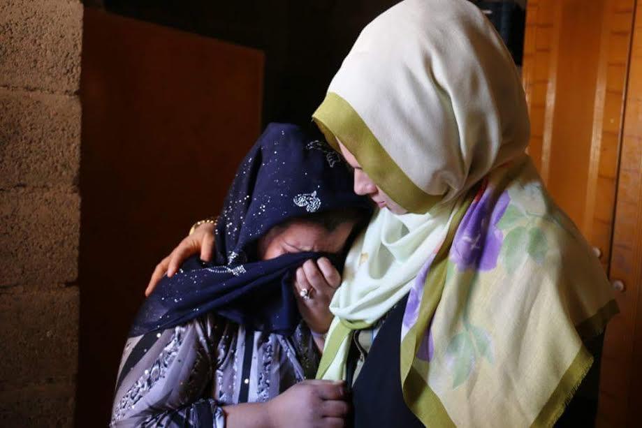 Göç mağdurlarına anne şefkati