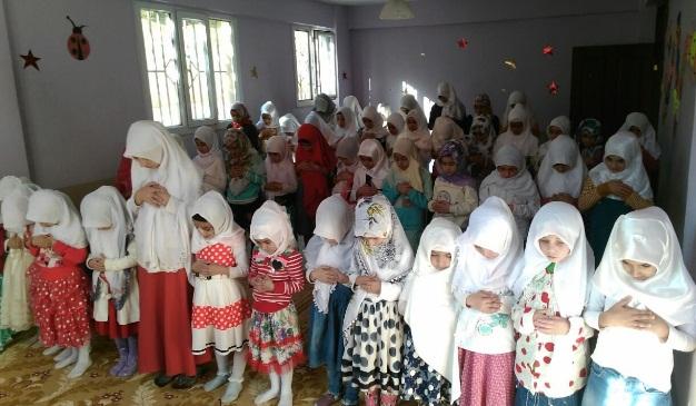 Gözümüzün Nuru Namaz etkinliği düzenlendi