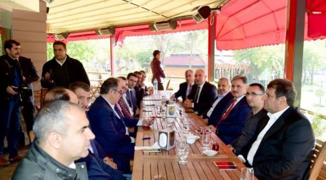 Güneydoğu bölgesi başkanları Malatya'da buluştu