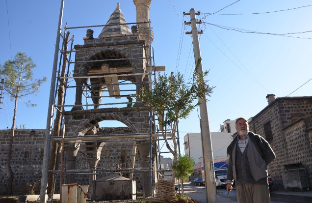 Hacı Piyar Çeşmesi Restore ediliyor