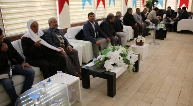 Haliliye'de Kasım ayı halk günü toplantısı yapıldı