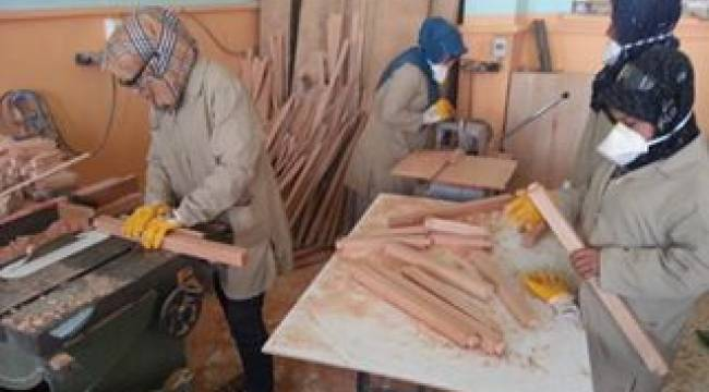 Harran'da ahşap oymacılık