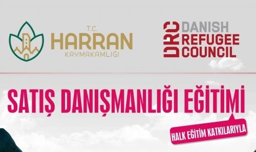 Harran'da Satış Danışmanlığı eğitimi verilecek
