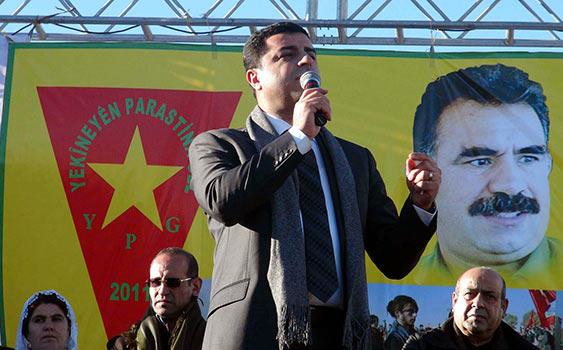 HDP Eş Genel Başkanı Demirtaş Gözaltına alındı