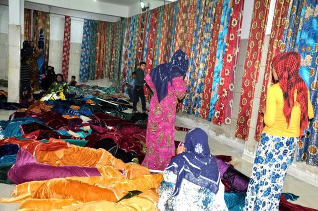 Hint Dizileri Urfa'da Giyim modasına yansıdı