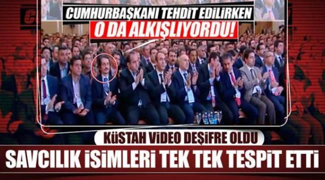 Küstah videoda Öksüzoğlu'da var