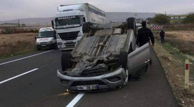 Mustafa Göktaş kaza geçirdi