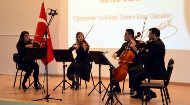 Öğretmenler Günü etkinliği düzenlendi