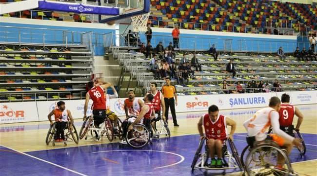 Şanlıurfa Basketbol'da TSK'yı 64-58 yendi
