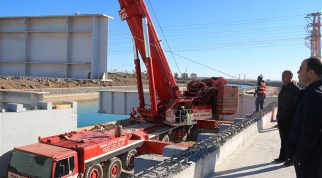 Şanlıurfa'da Çelik Köprülerin yapımı hızlandı