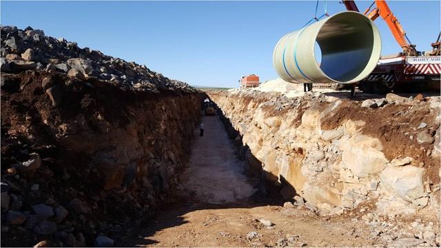 Şanlıurfa'nın Bir İlçesinin daha su hasreti bitiyor