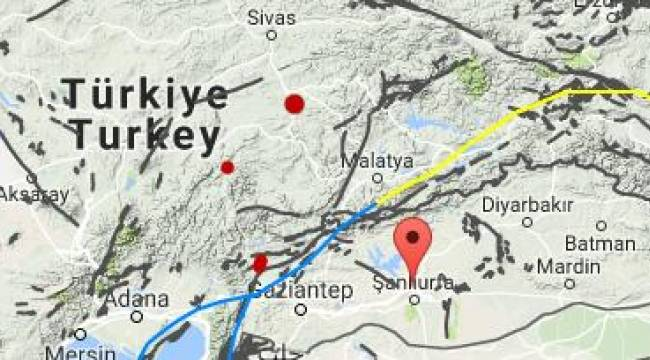 Siverek Karabahçe köyünde deprem