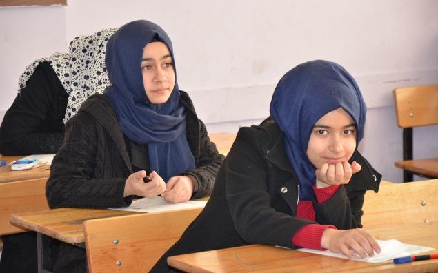 Siverek'te 6277 öğrenci TEOG Heyecanı yaşadı
