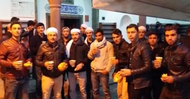 Siverekli Gençler Ulu Camide bir araya geldi