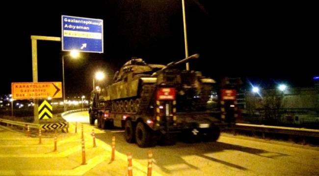 Tanklar Şanlıurfa üzerinden Şırnak'a ulaşacak