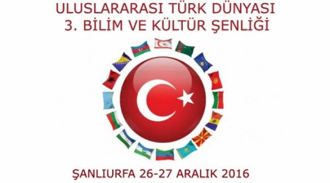 Türk cumhuriyetleri Bilim şenliği Şanlıurfa'da yapılacak