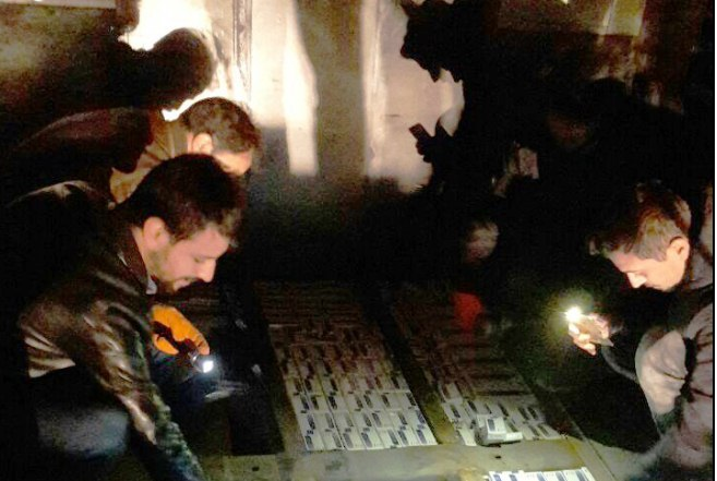 Urfa'da 138 bin paket kaçak sigara ele geçirildi