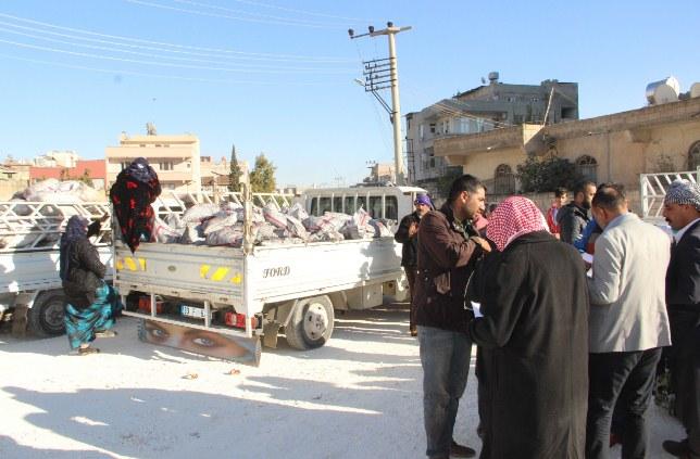 Urfa'da 20 Bin aileye kömür dağıtılıyor