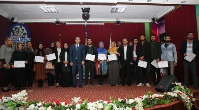Urfa'da 30 kişiye girişimcilik eğitimi