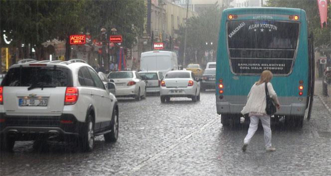 Urfa'da Beklenen yağışlar Geliyor