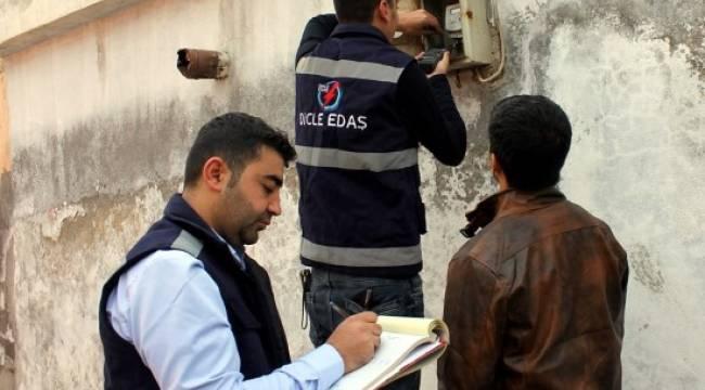 Urfa'da elektrik sayaçları kontrol edildi