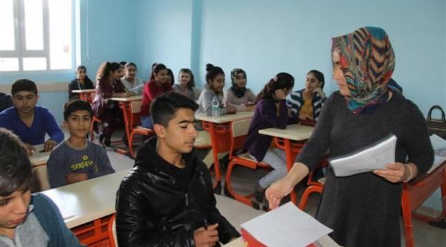 Urfa'da öğrencilere TEOG desteği
