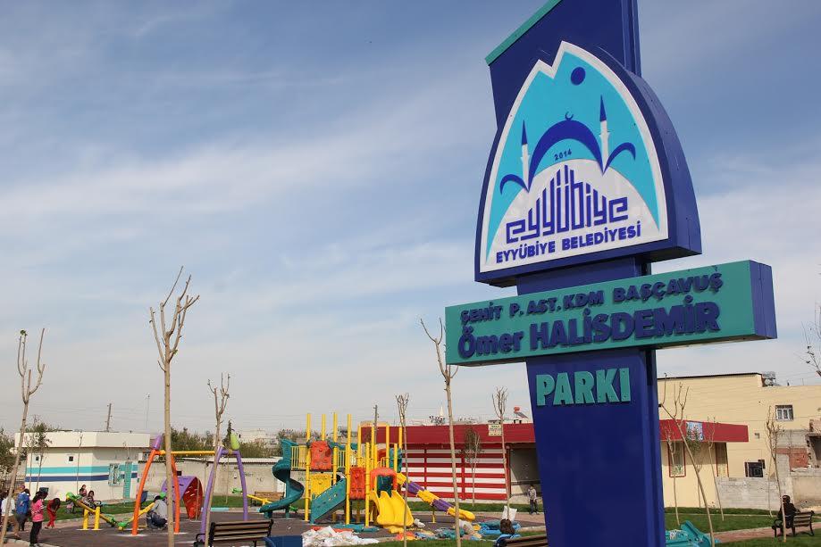 Urfa'da Ömer Halisdemir Parkı açılıyor