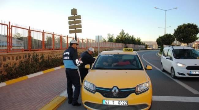 Urfa'da taksilere sıkı denetim