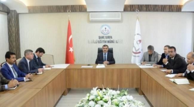 Urfa'da TEOG Sınavı tedbirleri konuşuldu