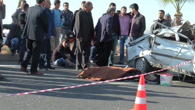 Urfa'da Yürek Burkan Kaza