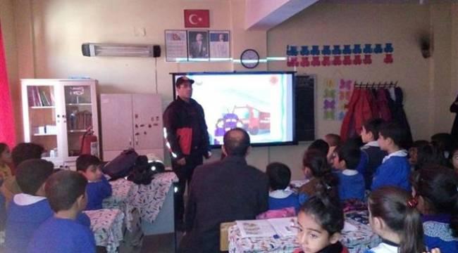 Urfa İtfaiyesinden öğrencilere eğitim