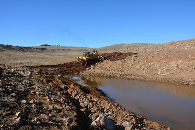 Urfa'nın Hayvancılık merkezine sulama göletleri yapıldı