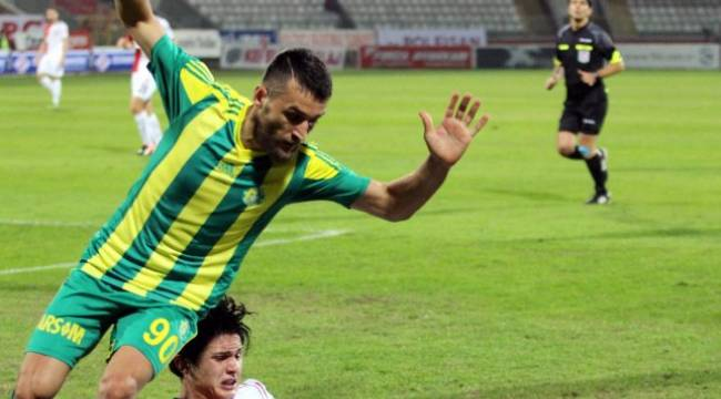 Urfaspor öne geçtiği maçta yenildi