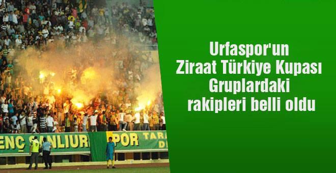 Urfaspor'un Gruplardaki Rakipleri belli oldu